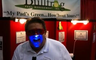 George Rose of Bullfrog Pest Management, Inc.