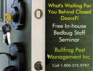 Bedbug-Seminar