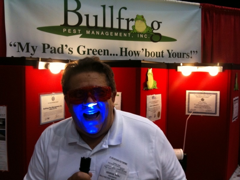 George Rose of Bullfrog Pest Management, Inc.